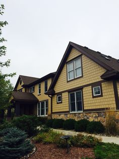 After Picture - Exterior painting in Mahtomedi, MN. It's amazing the difference it makes with a little color change.