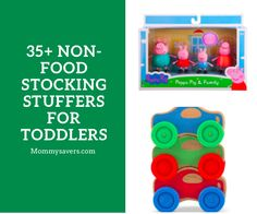 35+ Non-Food Stocking Stuffers for Toddlers