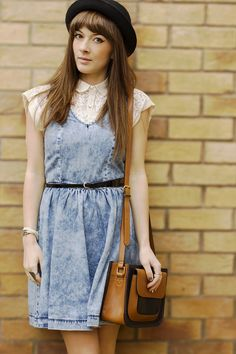 Outfit O'Clock #185 - Washed Out ~ So On Trend ☮ UK Style / Beauty Blog
