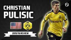 CHRISTIAN PULISIC | Goals, Skills, Assists | Borussia Dortmund | 2015/20...