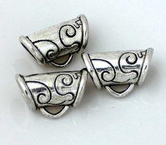 15pcs--Hanger link, Antique Silver, 11x17mm Metal Beads, Antique Silver, Hanger, Cufflinks, Trending Outfits, Antiques, Unique Jewelry, Handmade Gifts, Bracelets