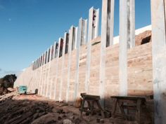 CLL's 320m i-beam retaining wall in Auckland, NZ
