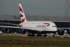 British Airways A380 G-XLEG