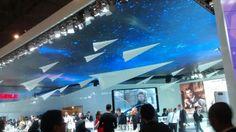 Huawei y su techo estrellado