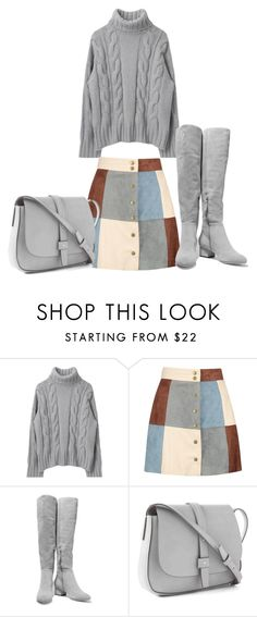 """""""2017"""" by adancetovic on Polyvore featuring Boohoo, Halston Heritage and Gap"""