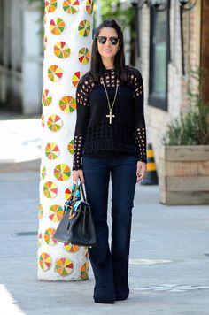 Blusa de crochê: looks, inspirações e onde comprar