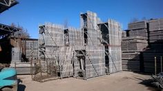 Galvanized scaffold CETA large quantity for sale