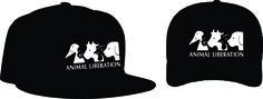 """Animal Liberation Bonés: Aba curva R$ 15,00 + frete Aba reta 20,00 + frete Personalizamos e estampamos a sua ideia: imagem, frase ou logo preferido. Envie a sua ideia ou escolha uma das """"nossas"""".... Blog: http://knupsilk.blogspot.com.br Pagina facebook: https://www.facebook.com/pages/KnupSilk-EstampariaSerigrafia/827832813899935?pnref=lhc https://twitter.com/KnupSilk https://br.pinterest.com/knupsilk/ E-mail: knupsilkscreen@outlook.com"""