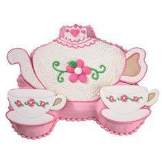 wilton teapot cake