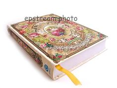 New Michal Negrin Victorian Floral Flower Hardcover Notebook Journal Diary Book | eBay