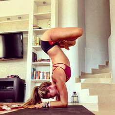 Love this house corner for practicing yoga..