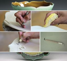Considerations for Carving Clay: How to Create Beautiful Carved Decoration on Your Pottery