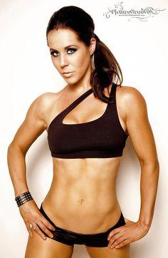 Fitness Model Abby Huot rockin' our best seller @Affitnity by Zeudy by Zeudy One Shoulder Sports Bra!.