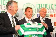 Thousands pack into Celtic Park to welcome Brendan Rodgers to club.