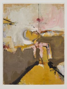 "Richard Diebenkorn, Untitled (Sausalito), 1949, from Greenberg Van Doren Gallery, New York. ""Artfix,"" on Art Basel Miami"