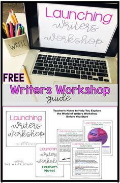Launch your writers workshop with this free guide. This set includes teacher's notes, powerpoint presentation and student printables. #writersworkshop #writersnotebook