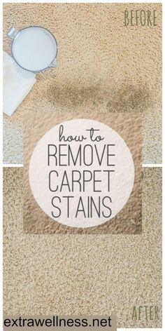 Here's how to make a natural dry carpet stain remover to freshen your rugs with step by step instructions. Tried it myself, worked on old stains and new!