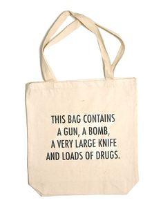 Tu recepcja - Best tote bag ever by Trevor Jackson