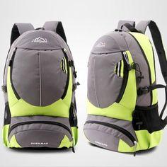 kai yunon Unisex Shoulders Mountaineering Bag Men And Women Travel On Foot Aug 23