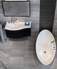 vit grå kakel badrum - Sök på Google