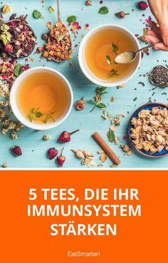 5 Tees, die Ihr Immunsystem stärken | eatsmarter.de