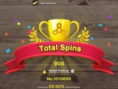 My total record is 904 spins! Come and beat me in Fidget Hand Spinner https://itunes.apple.com/app/id1225134960