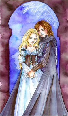 The White Lady and the Captain by Na-kun on deviantART