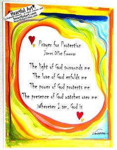 Amazing Grace 5x7 John Newton lyrics poster Heartful Art by Raphaella Vaisseau