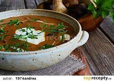 Maďarská houbová polévka recept - TopRecepty.cz
