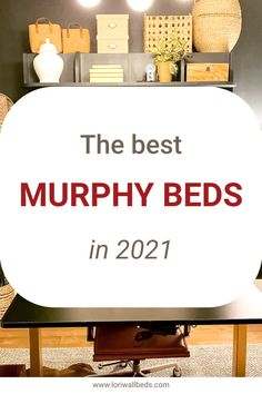 This article summarizes the best Murphy Beds in the United States. If you consider this unique, versatile bed for your home, read on for our top picks and a comprehensive buying guide. Murphy Bed Frame, Best Murphy Bed, Murphy Beds, Lori Walls, Bed Wall, Cool Beds, United States, Sleep, Unique