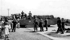 Troops arriving on West Park 12th May 1945