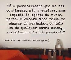 """""""Todos nós temos as ferramentas necessárias para mudar a nossa vida"""" - Daniel Sá Nogueira"""