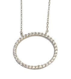 Silver Circle of Life Necklace
