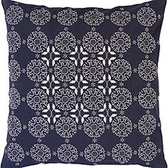 @Overstock - These fun decorative pillows has a colorful design. They offer a central Campton style and a navy coloring. Use these pillows to complement modern furnishings. Made from 100 percent cotton, these pillows have a handy zippered closure.http://www.overstock.com/Home-Garden/Decorative-Campton-Pillow/6418037/product.html?CID=214117 $46.99