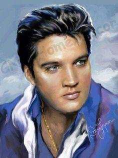 5d Diamond Painting Mosaic diy King of rock Elvis