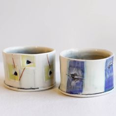 These little sippin' cups by Shannon Merritt (@sqmerritt) just came in a bit ago and they're just so darling! Shannon's work is so playful and clever and they make the perfect gift! (ps it's my birthday at the end of the week ) #ceramics #pottery #granvilleisland #vancouver #vancity #canada #bc #bcartists #bcclay #shoplocalvancouver #shoplocal #shopvancouver #canadianceramics #canadianclay #handmadeincanada #handmadeinbc #handmadeisbetter #madeincanada #cup #mug #shannonmerritt by…