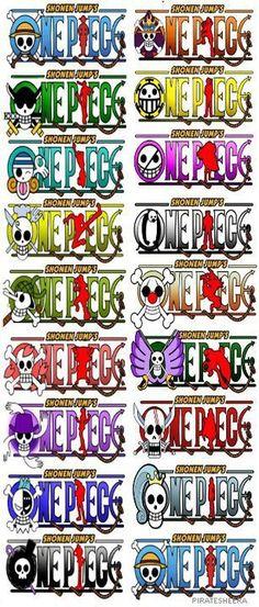 One Piece | Jolly Roger |  | Monkey D Luffy | Roronoa Zoro | Nami | Usopp | Vinsmoke Sanji | Tony Tony Chopper | Nico Robin | Franky | Brook | Mugiwaras | Portgas D Ace | Trafalgar Law | Donquixote Doflamingo | Boa Hancock | Buggy The Clown | Baroque Works | Shanks | Nefertari Vivi