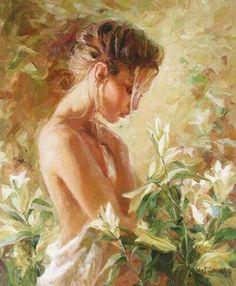 Amazing Romantic Impressionists Paintings by   Ukrainian Artist Mikhail & Inessa Garmash,  Husband and Wife Team.