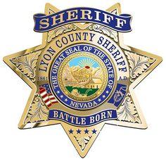 Lyon county Sheriff NV