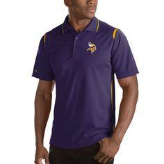 Minnesota Vikings Antigua Merit Polo - Purple