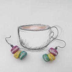 #Серьги_Macaroons  You are a macaroon to my latte.❤☕ #Ren  #PFE