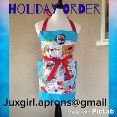 Follow in Instagram at juxgirl.aprons