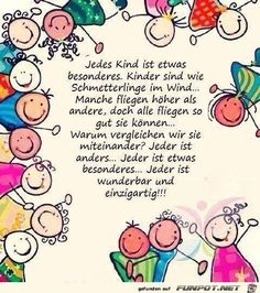 Every child is special. Children are like butterflies in the wind. Some … – Kinder Kindergarten Portfolio, Kindergarten Lesson Plans, Education Positive, Positive Attitude, True Words, Kids And Parenting, Quotations, Positivity, Messages