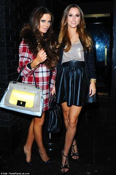 lucy-watson-binky-felstead-made-in-chelsea-alex-mytton-. Made In Chelsea Binky, Preppy Style, Style Me, Lucy Watson, High Fashion Outfits, Night Out, Celebrity Style, Celebs, Celebrity
