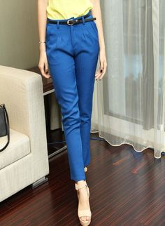 New Style Slim Solid Color Cotton Blended Harem Pants-- Click on the picture to order it>>Shop price:US$5.48---#shoes #wholesale #fashion #lovely #cheap #Korean #dress #sexy #clothes#