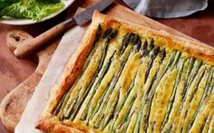 Spring Asparagus Tart Recipe by Food Network Kitchens