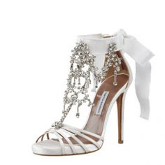 Tabitha Simmons Chandelier Crystal Sandal $2,195.00