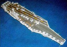USS Harry S. Truman CVN-75 Nimitz-class Aircraft Carrier Free Paper Model…