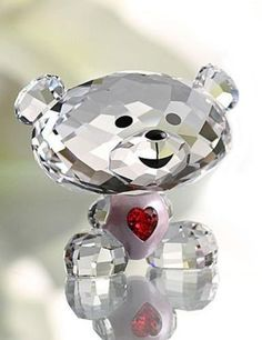 Swarovski LOVLOTS Figurine BO BEAR SO SWEET #1140001 – Zhannel