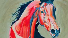 Yaheya Pasha equine equestrian artist horse art